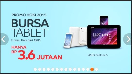Promo Hoki 2015 Bursa Tablet  Promo Sampai dengan 31 Januari 2015