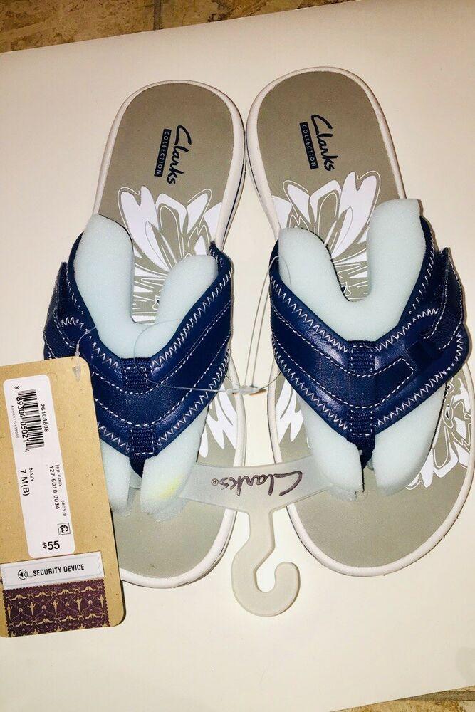 97b167c3de1a NWT Clarks Navy Breeze Mila Sandals Flip Flops. size 7  fashion  clothing   shoes  accessories  mensshoes  sandals (ebay link)
