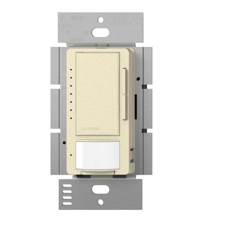 Maestro 150-Watt Single-Pole/3-Way CFL-LED Dimmer with Vacancy Sensing,