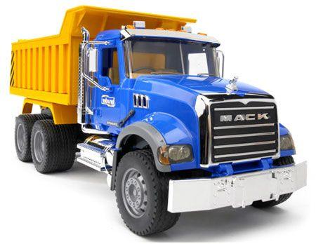 MACK Dump Truck by Bruder - $55.95