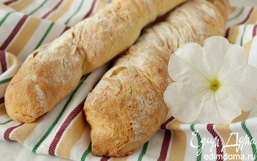 Французский крученый багет   Кулинарные рецепты от «Едим дома!»