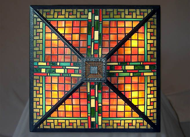 Wright Brothers Stained Glass Lamp : Best ideas about glass table lamps on pinterest