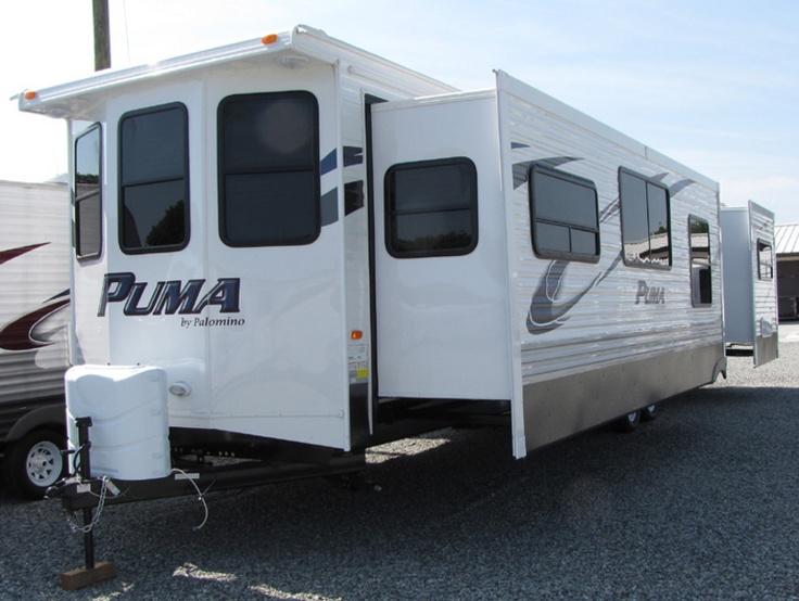 2013 Forest River Puma 38PLF - Front Living, Park Models RV For Sale in Winston-Salem, North Carolina | Country Roads RV Center 2013 Puma 38PLF | RVT.com - 98080 Visit http://holmestuttlerv.com/