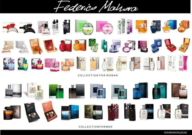 Fm perfume collection
