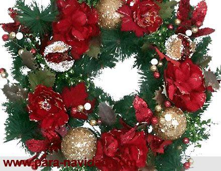 fotos de coronas de adviento para navidad - Buscar con Google