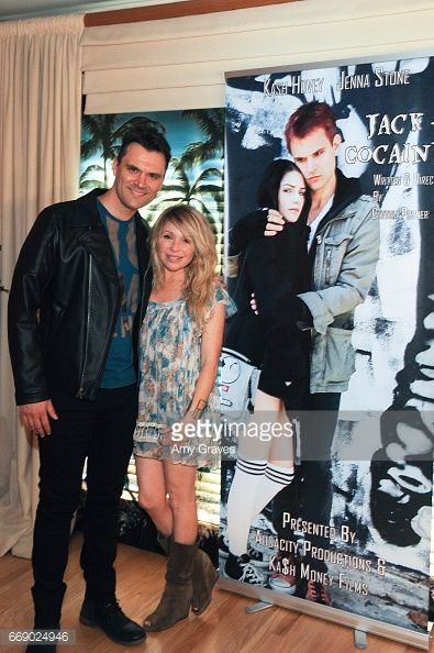 Kash Hovey and E.G. Daily attends the 'Jack And Cocaine' Feature Film Event Presented By Kash Hovey And Michelle Beaulieu on April 15, 2017 in Los Angeles, California. (Photo by Amy Graves/WireImage) ***E.G. Daily