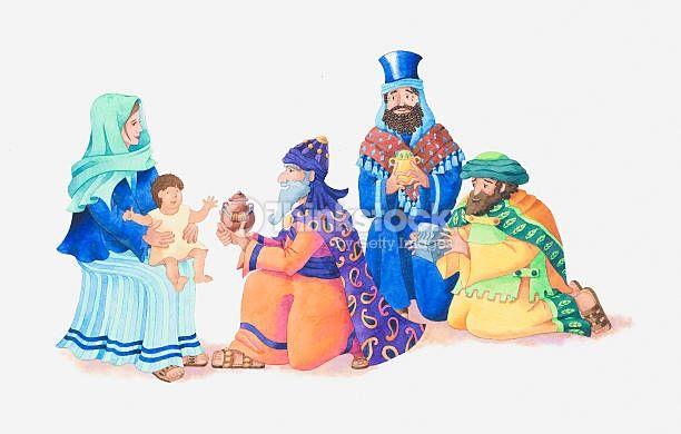 Los Tres Reyes Magos Fotos e ilustraciones de stock - Imágenes libres de derechos - Thinkstock
