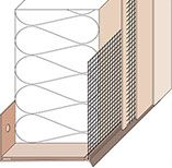 PVC Base Profiles | Wall insulation, Curved walls ...