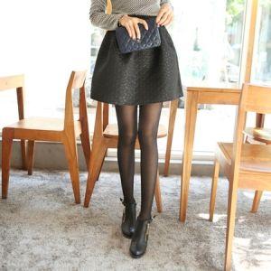 Korea Womens Luxury Shopping Mall [mimindidi] Shining Black ♡ sk / Size : FREE / Price : 37.13 USD #korea #fashion #style #fashionshop #apperal #luxury #lovely #mimididi #bottom #skirt #dailylook