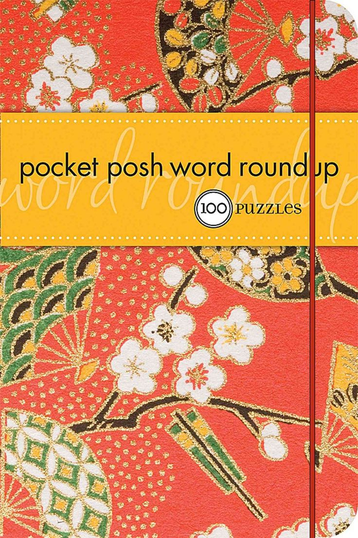 Pocket Posh Word Roundup: 100 Puzzles