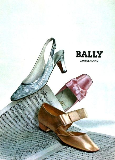 Vintage Shoes by Bally 1967