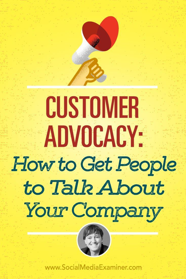 Are your customers advocates for your brand or business?  Want to improve customer satisfaction and advocacy?  To find out how to turn customers into advocates, Mike Stelzner interviews Joey Coleman. Via @smexaminer.