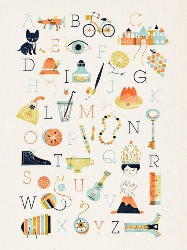 Alphabet by Sollinero
