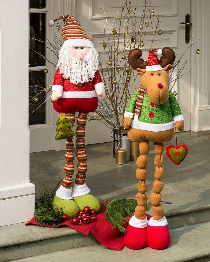Dale la bienvenida a tus invitados con Santa y Rodolfo. #LaNavidadDeLasCasas #easytienda #tiendaeasy #Navidad2016 #Easy
