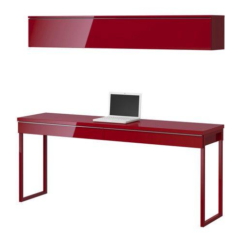Schreibtisch ikea  Die 25+ besten Wall mounted desk ikea Ideen auf Pinterest ...