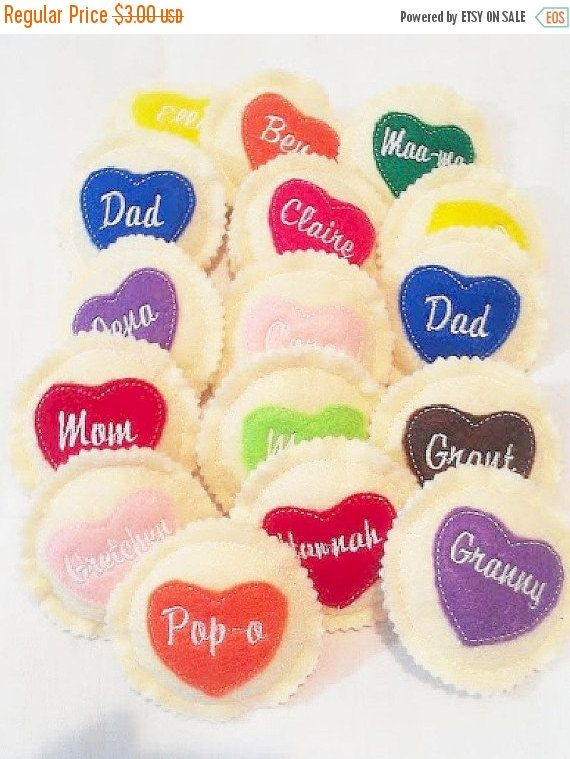 Halloween Sale Personalized heart cookie Choose your icing color Personalized cookie Pretend Play Cookies