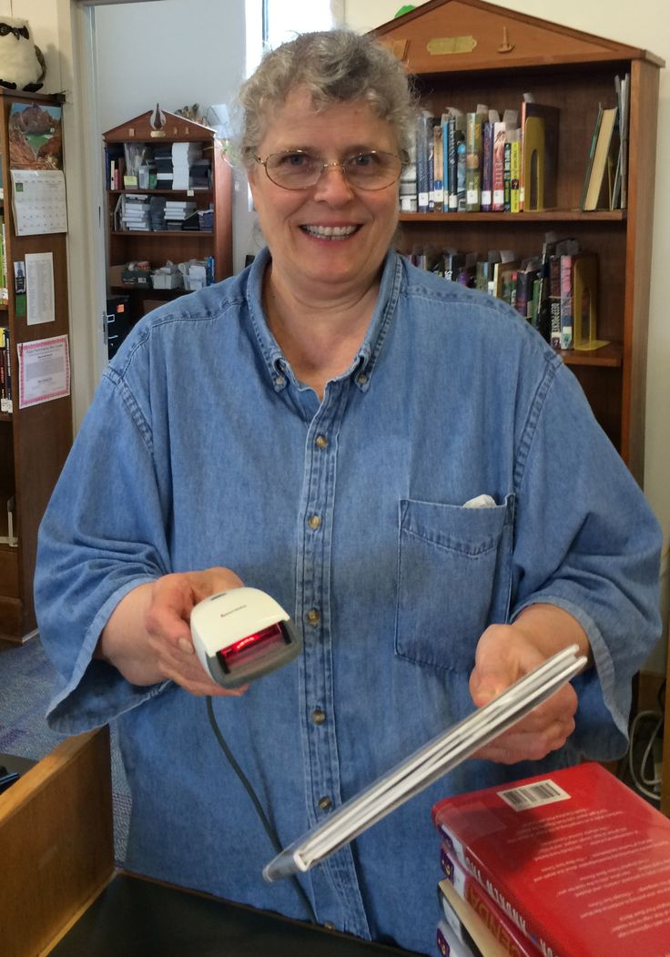 Kathleen, always with a smile and a helping hand from Weaverville LIbrary in Asheville, NC