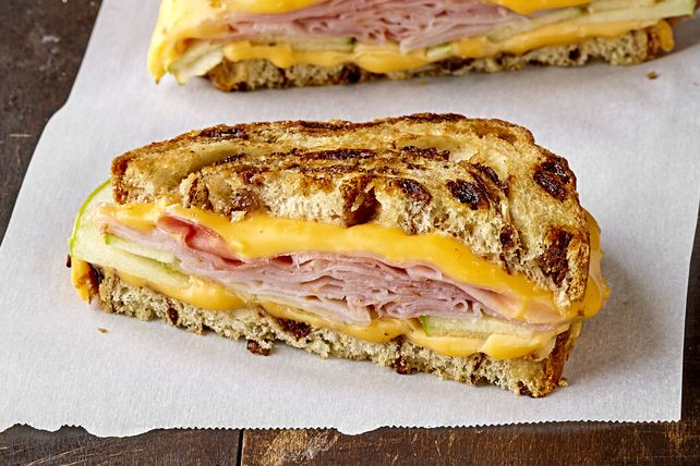 Enhance a classic by making our flavorful Grilled Cheese with Ham and Apples. Kids and adults both love this tasty grilled cheese with ham sandwich.