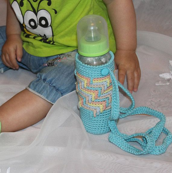 Baby bottle cozy Newborn bottle cover Bottle bag baby Kids