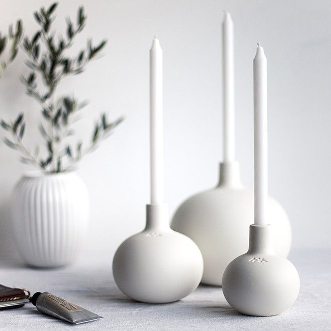 Kähler has created the Globo range in cooperation with the designer, Dorthe Helm.