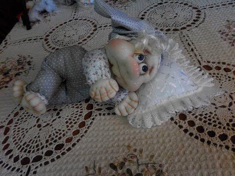 МК кукла Спальничек)