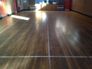 This is what our floor sanding services has achieved at Flackwell Heath Community Center.