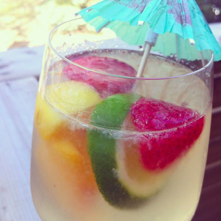 White Sangria | Nataly's shower | Pinterest