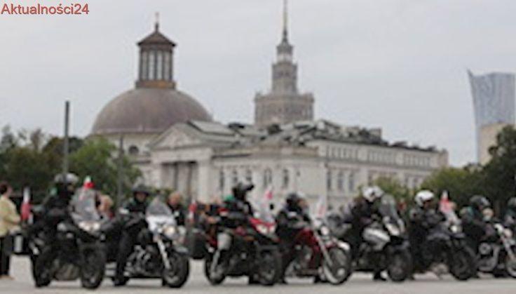 Z Warszawy wyruszył XVII Międzynarodowy Motocyklowy Rajd Katyński