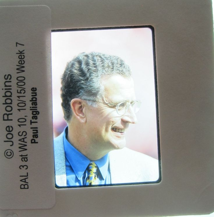 PAUL TAGLIABUE commissioner of the National Football League NFL ORIGINAL SLIDE 2