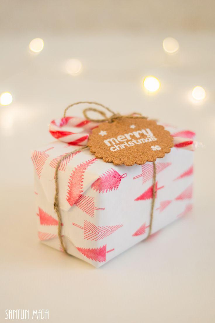 Kauniit joulupaketit
