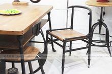 Французский деревня чердак ретро стиль мебель обеденные стулья личности кафе бар стол стул(China (Mainland))