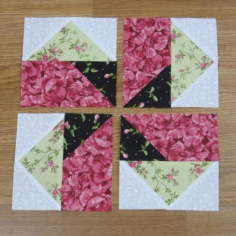 Seesaw Traditional Quilt Block Pattern – fabric-406