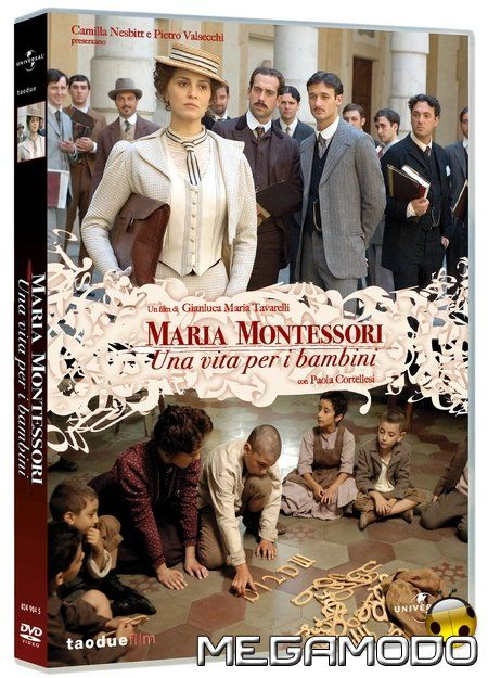 Maria Montessori- Una vita per i bambini.  Completely in Italian.