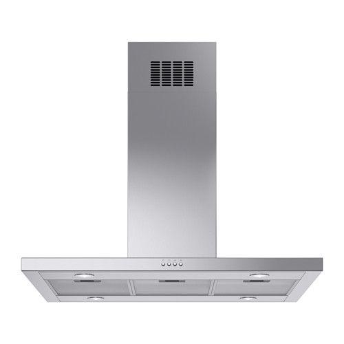 IKEA - SVÄVANDE, Dunstabzugshaube f Deckenmontage, Inklusive 5 Jahre Garantie. Mehr darüber in der Garantiebroschüre.Bedienfeld auf der Oberseite; praktisch und leicht zugänglich.Der spülmaschinenfeste Fettfilter kann zum Reinigen leicht herausgenommen werden. 3 Fettfilter inkl.Mit 4 Energie sparenden LED-Leuchtquellen für effektive Beleuchtung der Kochzone.Für Umluftbetrieb mit Kohlefilter und für Abluftbetrieb geeignet.Kochdünste werden durch die große Ansaugfläche schnell und effektiv…