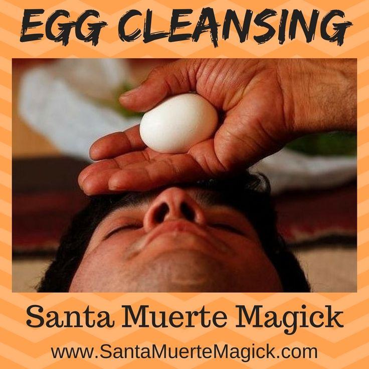 Egg Cleansing Santa Muerte Magick - #EggCleansing #SantaMuerte #Magick #Cleansing