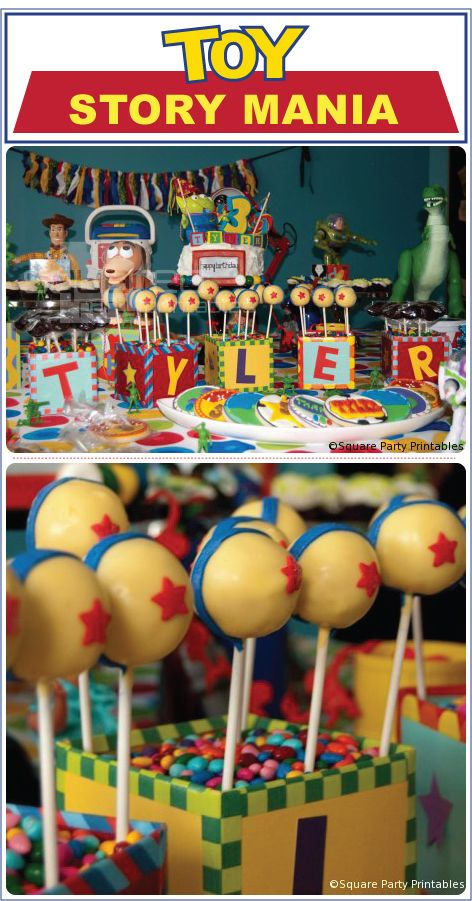 toy story dessert table - Google Search