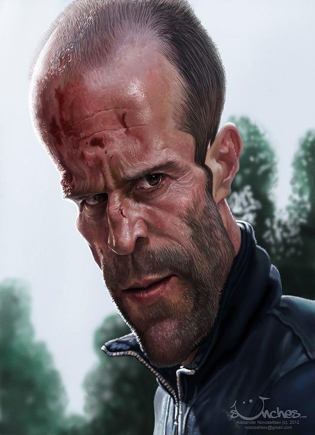 Jason Statham #Caricature #FunnyFaces