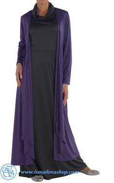 75 Шикарный Shrug кардиган-фиолетовый