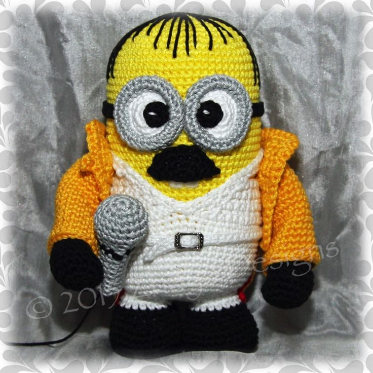 70 best Minions images on Pinterest | Minion häkeln, Stricken häkeln ...