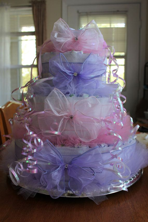 Check out this item in my Etsy shop https://www.etsy.com/listing/231756094/diaper-cake-baby-girl-baby-girl-diaper