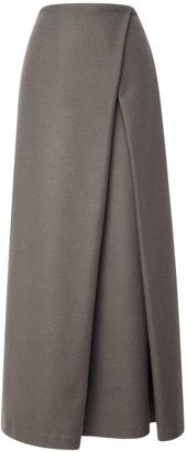Suno Wrap Pleat Maxi Skirt