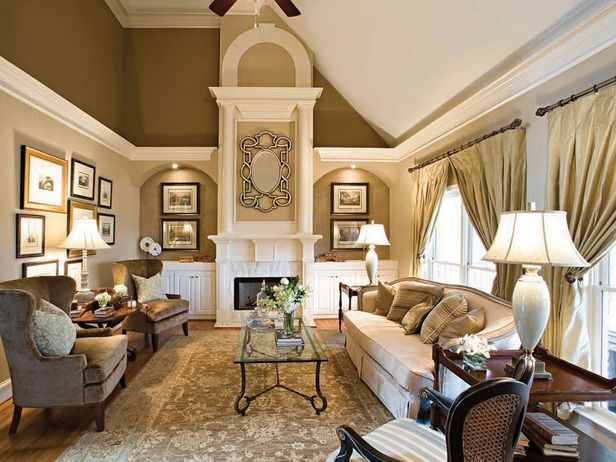 Beautiful Lighting For Traditional Luxury Living Room
