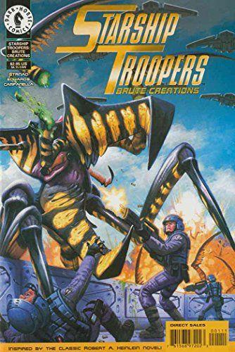Starship Troopers: Brute Creations #1 VG ; Dark Horse comic book  Starship Troopers: Brute Creations  Dark Horse  Jan Strnad  Tommy Lee Edwards  Starship Troopers