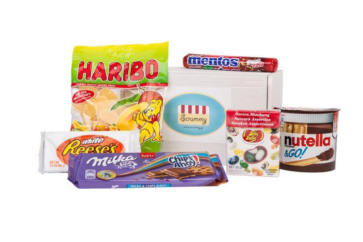 Scrummy - box ze słodyczami zagranicznymi