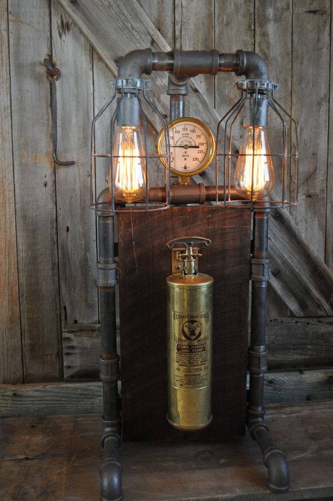 Industrial Steampunk Machine Age Vintage Elkhart Fire