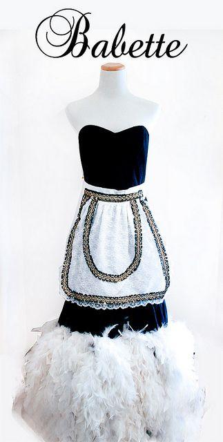 Babette-Beauty and the Beast Costume Design by Sweetie Pie Bakery, via Flickr