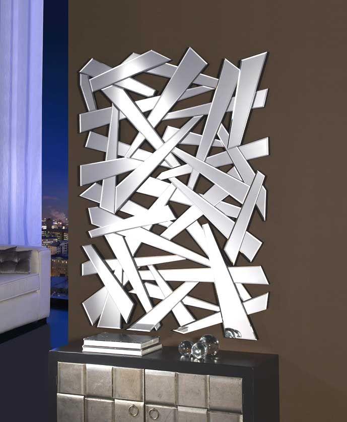 17 mejores ideas sobre espejos de pared decorativos en for Espejos decorativos con formas