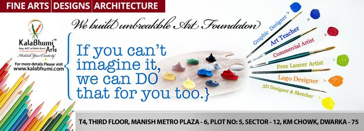 Kalabhumi Arts- Professional Fine Art Institute in Dwarka delhi provide best art classes for build unbreakable art foundation