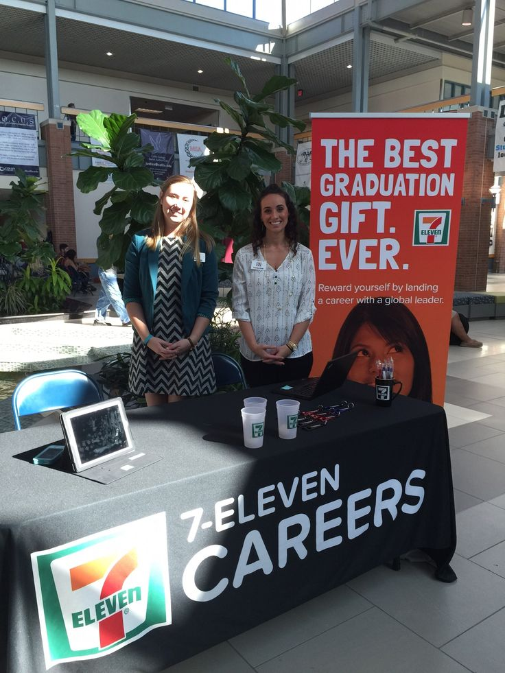 Audra and Jennifer at Collin County Community College - Plano recruiting college candidates!