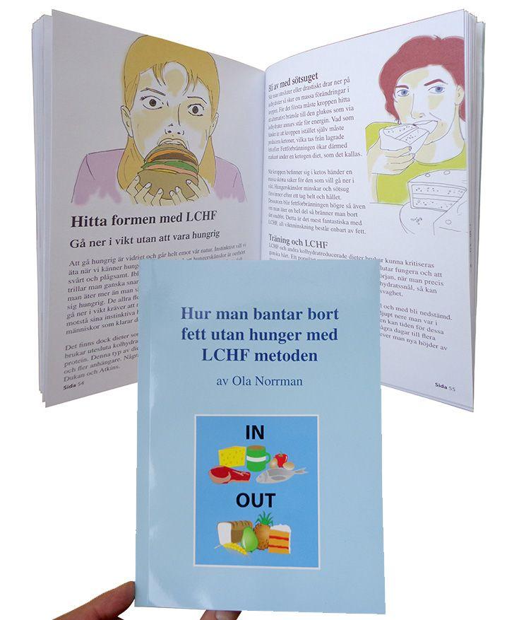 Hur man bantar bort fett utan hunger med LCHF-metoden av Ola Norrman är baserad på över ett decennium med LCHF.   LCHF-metoden - Low Carb High Fat - är unik på så sätt att all vikt man förlorar består enbart av fett samtidigt som man äter lyxmat och aldri